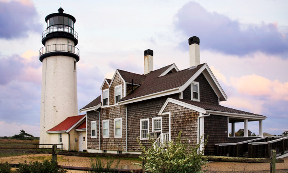 A picture of Highland Lighthouse, Truro MA