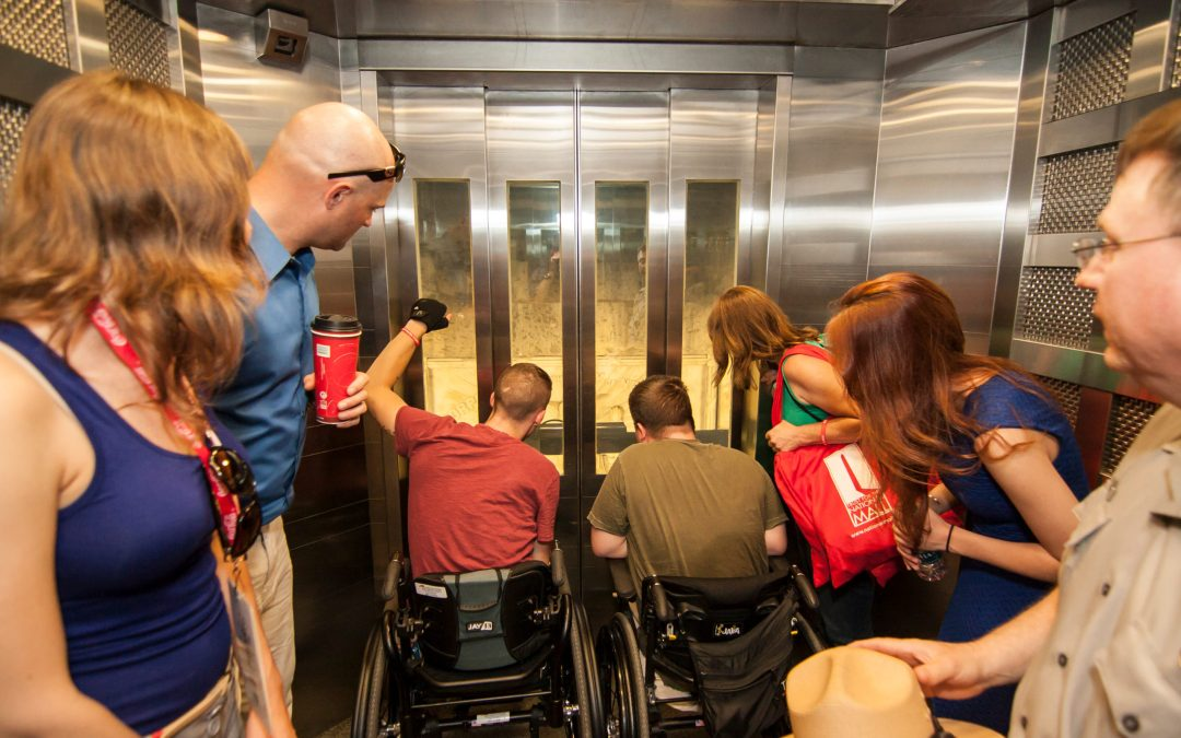 Supporting Learning: The Most Educational Elevator Ride in Town