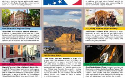 Passport To Your National Parks® 2022 Stamp Set Announced
