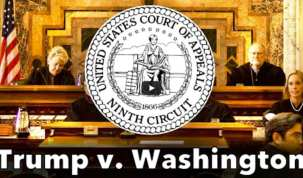 President Donald Trump Travel Ban Court Hearing by Court of Appeals (2/7/17)