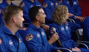 Space Station Crew Discusses Life in Space with NASA's Newest Astronauts