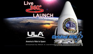 World's First Live 360 Rocket Launch: Orbital ATK CRS-7