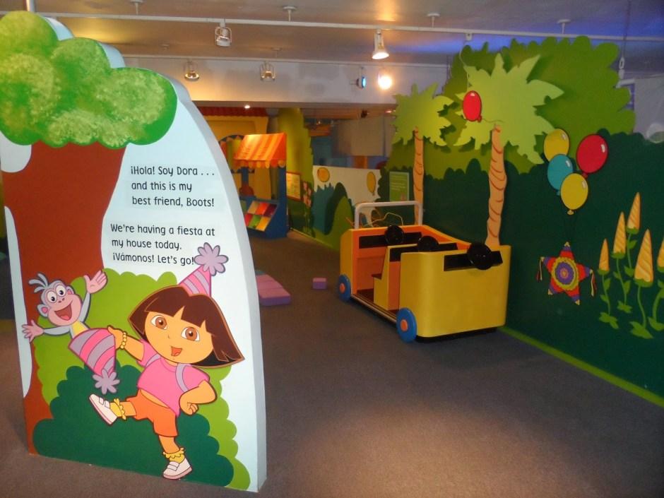 Детский музей на Манхеттен, Нью-Йорк, Америка