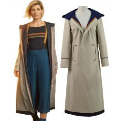 13 Doctor Who Jodie Whittaker Hooded Trench Coat