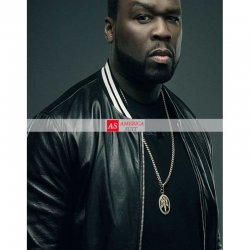 50 Cent Den Of Thieves Black Varsity Jacket
