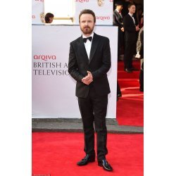 Aaron Paul Getty Celebrity Black Suit