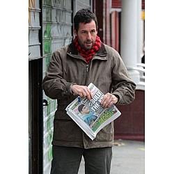 Adam Sandler Movie Cobbler Leather Jacket