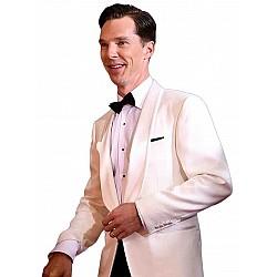 Benedict Cumberbatch White Dinner Suit