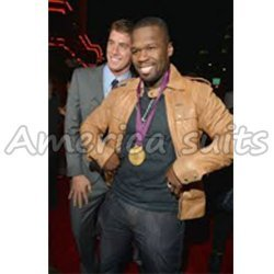 Hollywood Rapper 50 Cent Leather Jacket