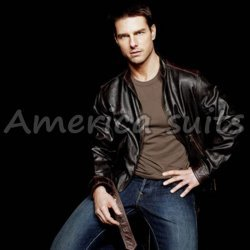 Tom Cruise Brown Leather Jacket