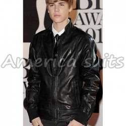 Justin Beiber Celebrity Leather Jacket