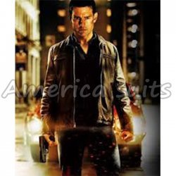Tom Cruise Jack Reacher Movie Leather Jacket