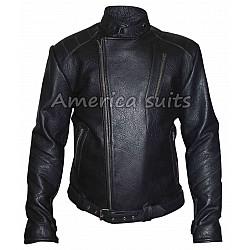 David Beckham Footballer Leather Jacket