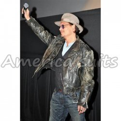 Johnny Depp Celebrity Leather Jacket