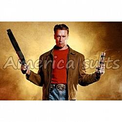 Arnold Schwarzenegger Last Action Hero Leather Jacket