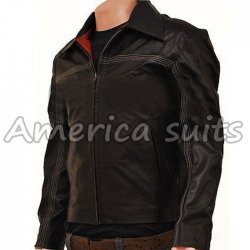 Transformers 3 Bomber Leather Jacket