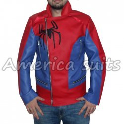 Amazing Spiderman 2 movie Leather Jacket