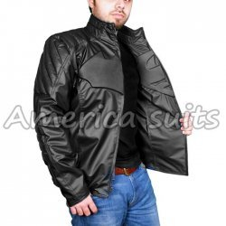 Superman Smallville Reversible Leather Jacket