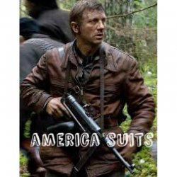 Daniel Craig Defiance Leather Jacket For Men