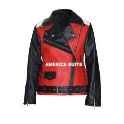 Demi Lavado Celebrity Leather Jacket