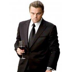 Leonardo DiCaprio Black Suit