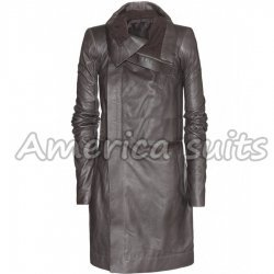 Long Asymmetrical Biker Womens Jacket