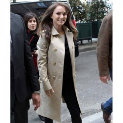 Jane Got A gun Natalie Portman White Long Cotton Coat