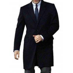 James Bond Navy Blue Overcoat Suit