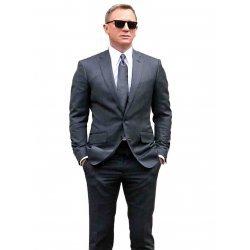 Spectre Grey Pinstripe Suit