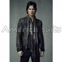 The Vampire Diaries Season 4 Leather Jacket For Men