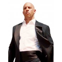 Vin Diesel Furious 7 Peak Lapel Tuxedo
