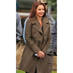 A Dogs Way Home Ashley Judd Wool Coat