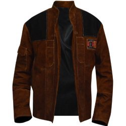 A Star wars Story Han Solo Brown Jacket