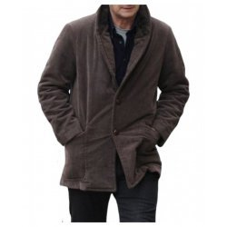 A Walk Among Tombstone Liam Neeson Wool Coat