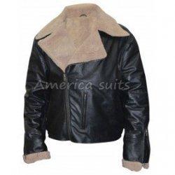 A2 Flight Aviator Black Bomber Leather Jacket