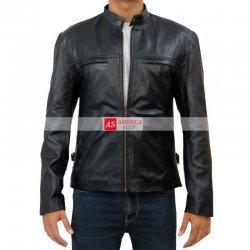 Aaron Taylor Johnson Godzilla Leather Jacket