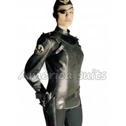 Angelina Jolie Sky Captain Leather Jacket