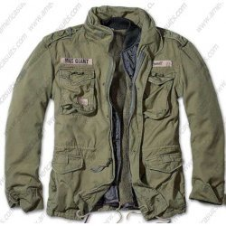 Army Style Cotton Casual Jacket
