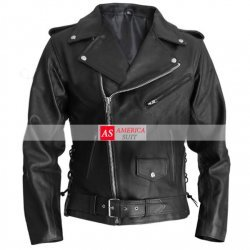 Arnold Schwarzenegger Terminator Leather Jacket