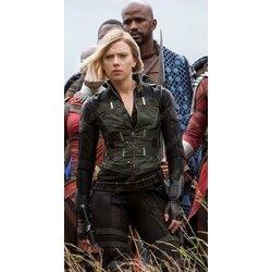 Avengers 4 Scarlett Johansson Green Vest