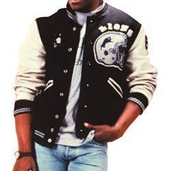 Detroit Lions Beverly Hills Cop Axel Foley Baseball Letterman Jacket