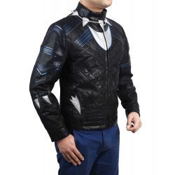 Black Panther Avengers Leather Jacket