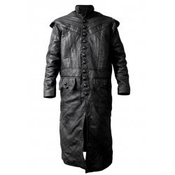 Black Sails Captain Flint Black Long Coat