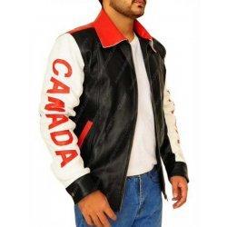 Bomber Style Canadian Flag Jacket
