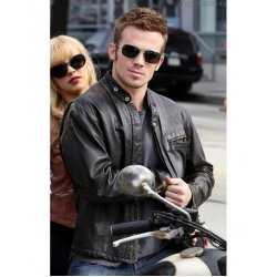 Cam Gigandet oscar award Celebrity Leather Jacket