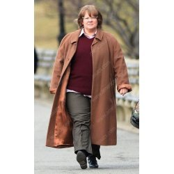 Can You Ever Forgive Me Melissa McCarthy Brown Coat