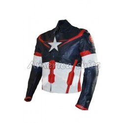 Captain America Civil War Jacket for Men