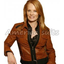 Catherine Willow Crime Scene Investigation CSI Jacket