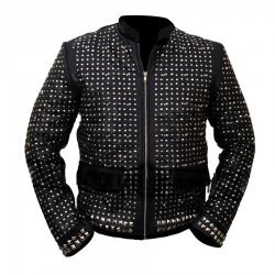 Chris Jericho Sparkle Light Up  WWE  Leather Jacket
