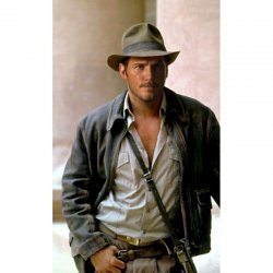 Chris Pratt New Indiana Jones Leather Jacket